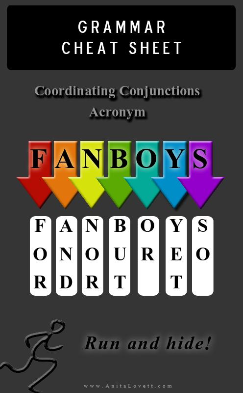 FANBOYS Acronym